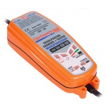 Batterie moto Tecmate Optimate DC - DC