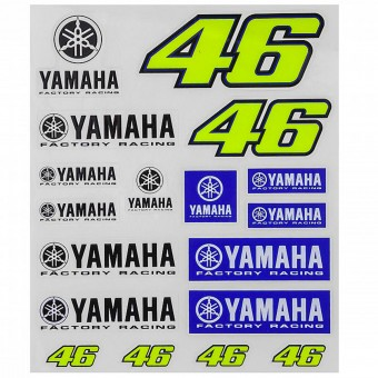 Adesivi Moto VR 46 Sticker Big Yamaha VR46