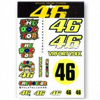 Adesivi Moto VR 46 Sticker Big VR46