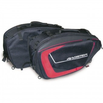 Borse laterali Bagster Cruise Black Red