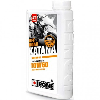 Olio motore IPONE Katana Off Road - 10W60 100 % Synthetic - 2 Litri 4T