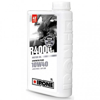 Olio motore IPONE R4000 RS - 10W40 Synthetic Plus - 2 Litri 4T