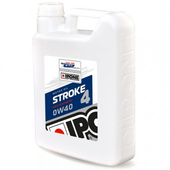 Olio motore IPONE Stroke 4 - 0W40 100 % Synthetic - 4 Litri 4T