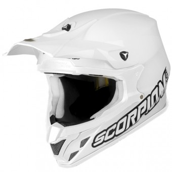 Casque Cross Scorpion VX-20 Air Bianco