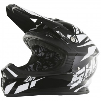 Casque Cross SHOT Furious Squad Black