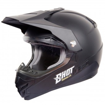 Casque Cross SHOT Rambler Nero Opaco