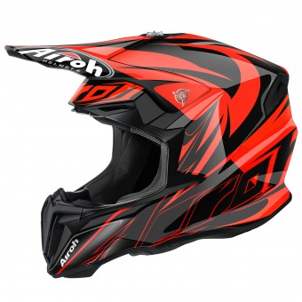 Casque Cross Airoh Twist Evil Orange