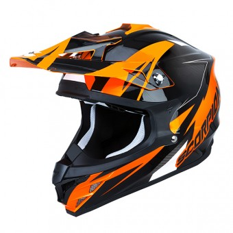 Casque Cross Scorpion VX-15 Evo Air Krush Orange