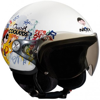Casque Bambini Nexx X60 Coolkids Bianco Lucido 2011