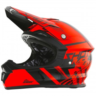 Casque Bambini SHOT Furious Claw Neon Orange Bambino