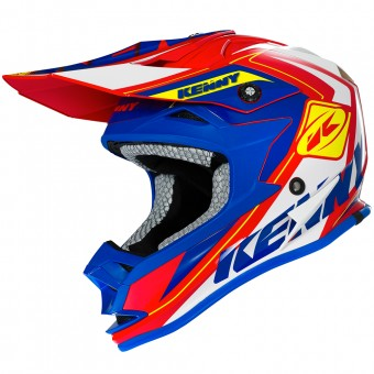 Casque Bambini Kenny Performance Red Blue Yellow Kid