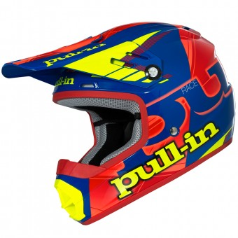 Casque Bambini pull-in Pull-in Blue Neon Orange Yellow Bambino