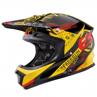 Casque Bambini Freegun XP-4 Bandana Yellow Red Bambino