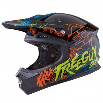 Casque Bambini Freegun XP-4 Overload Yellow Green Bambino