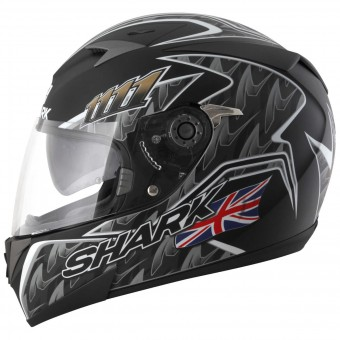 Casque Integrale Shark S700 S Foggy 20th Birthday KBS Pinlock