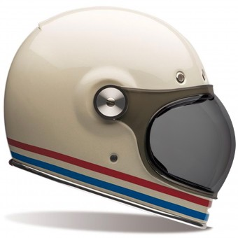 Casque Integrale Bell Bullitt Stripes Pearl White