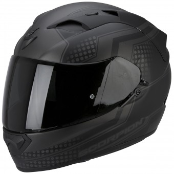 Casque Integrale Scorpion Exo 1200 Air Alias Matt Black Silver