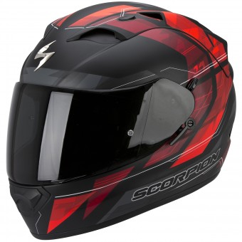 Casque Integrale Scorpion Exo 1200 Air Hornet Matt Neon Red