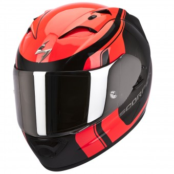 Casque Integrale Scorpion EXO 1200 Air Stream Tour Nero Opaco Rosso