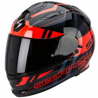 Casque Integrale Scorpion Exo 510 Air Stage Black Red