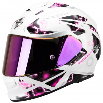 Casque Integrale Scorpion Exo 510 Air Xena Pearl White Pink
