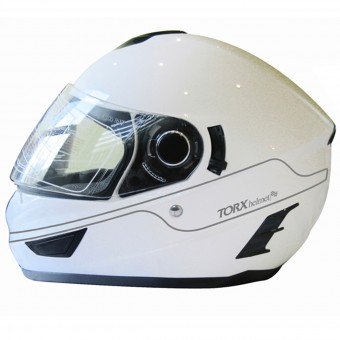 Casque Integrale Torx Manson White