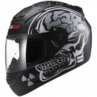 Casque Integrale LS2 Rookie X Ray Matt Black FF352