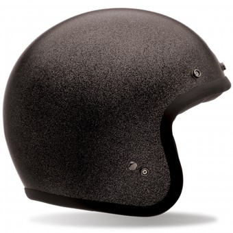 Casque Jet Bell Custom 500 Black Flake