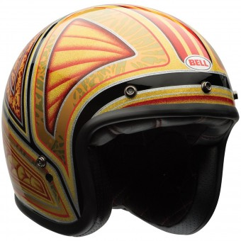 Casque Jet Bell Custom 500 Tagger Flashback