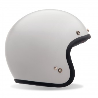Casque Jet Bell Custom 500 Vintage White