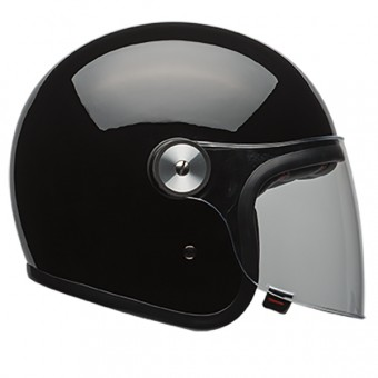 Casque Jet Bell Riot Solid Black