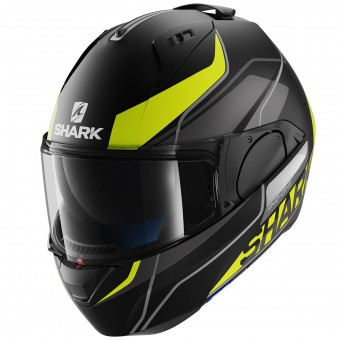 Casque Modulare Apribile Shark Evo-One Krono Mat KYW