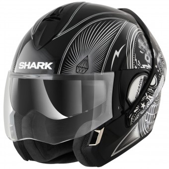 Casque Modulare Apribile Shark Evoline Serie 3 Mezcal Chrome KUK