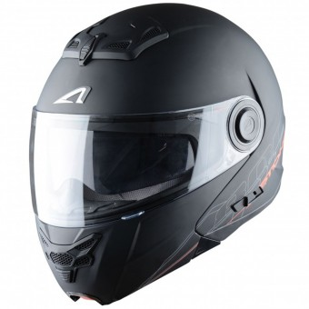 Casque Modulare Apribile Astone RT 800 Matt Black