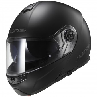 Casque Modulare Apribile LS2 Strobe Matt Black FF325