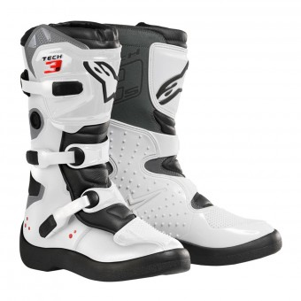 Stivali Cross Alpinestars Tech 3S Kids Black White