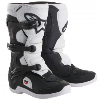 Stivali Cross Alpinestars Tech 3S Youth Black White
