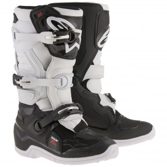 Stivali Cross Alpinestars TECH 7 S Black White Bambino