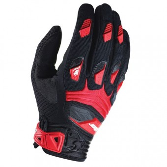 Guanti Cross Thor Deflector Black Red