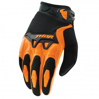 Guanti Cross Thor Spectrum Orange