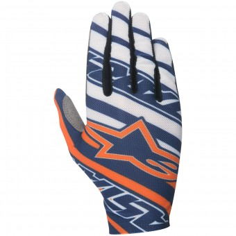 Guanti Cross Alpinestars Dune Navy Orange