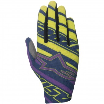 Guanti Cross Alpinestars Dune Navy Purple