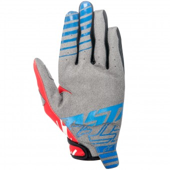 Guanti Cross Alpinestars Racer Braap Blue Red Bambino