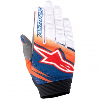 Guanti Cross Alpinestars Techstar Venom Orange