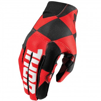 Guanti Cross Thor Void Plus Chex Red