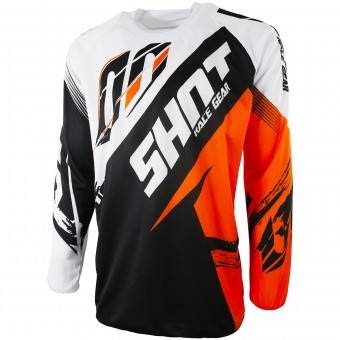 Maglia Cross SHOT Contact Fast Orange