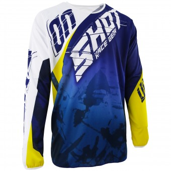 Maglia Cross SHOT Devo Squad Blue Yellow