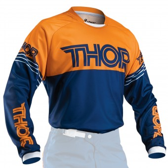 Maglia Cross Thor Phase Hyperion Navy Orange