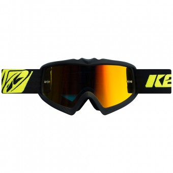 Maschera Cross Kenny Performance Matt Black Kid