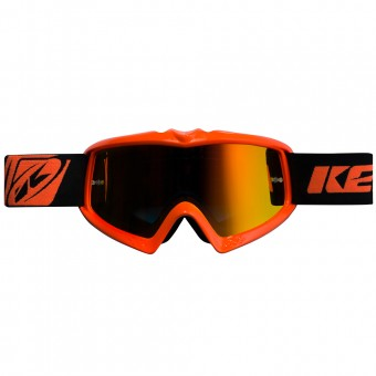 Maschera Cross Kenny Performance Neon Orange Kid